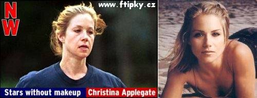 Bez makeupu - Christina Applegate