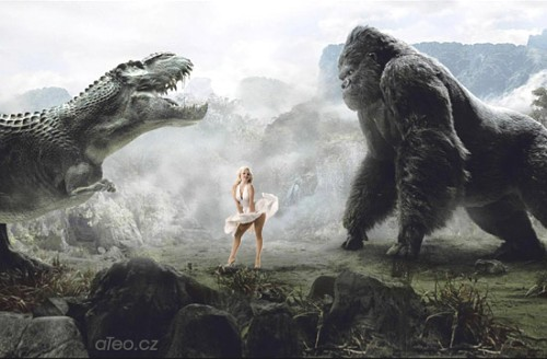 King Kong s Marilyn Monroe