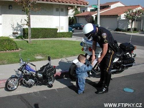 Pokuta pro motorkáře