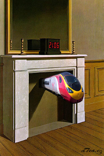 René Magritte - Time