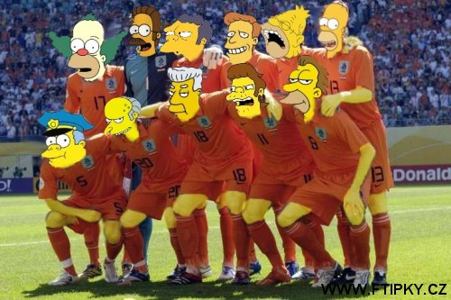 The Simpsons team