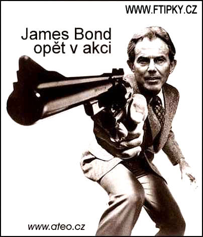 Tony Blair 007
